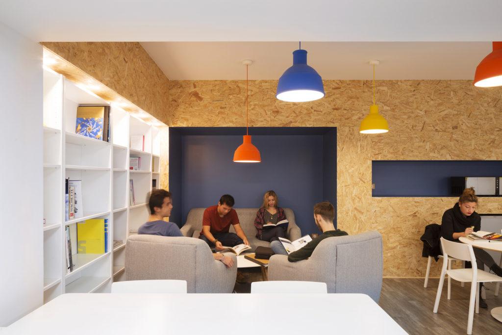Espace détente école IPESAA Montpellier